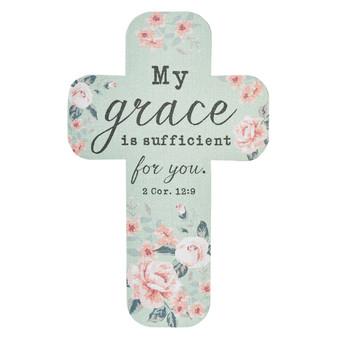 My Grace Is Sufficient Cross Bookmark Set - 2 Corinthians 12:9