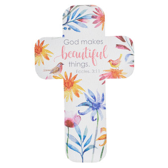 God Makes Beautiful Things Cross Bookmark Set - Ecclesiastes 3:11