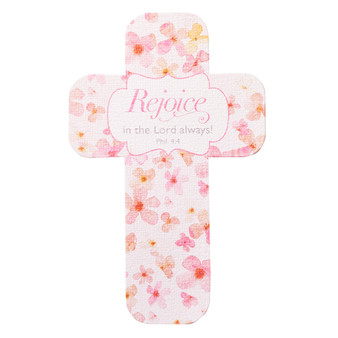 Rejoice Cross Bookmark Set - Philippians 4:4