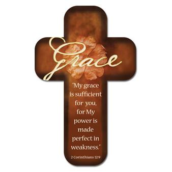 His Grace Cross Bookmark Set - 2 Corinthians 12:9