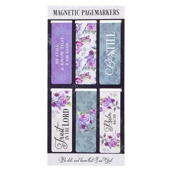 Be Still Magnetic Bookmark Set - Psalm 46:10