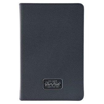 I Know The Plans Full Grain Leather Journal - Jeremiah 29:11