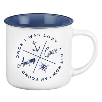 Amazing Grace Camp Style Coffee Mug