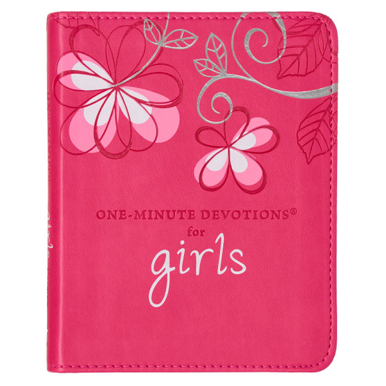 One-Minute Devotions for Girls - LuxLeather Edition