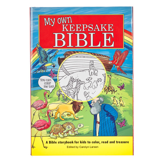 My Own Keepsake Bible: Children's Coloring Bible