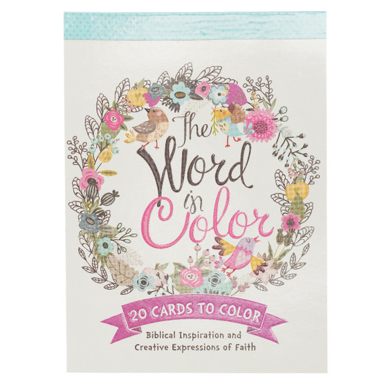 The Word in Color Coloring Postcards