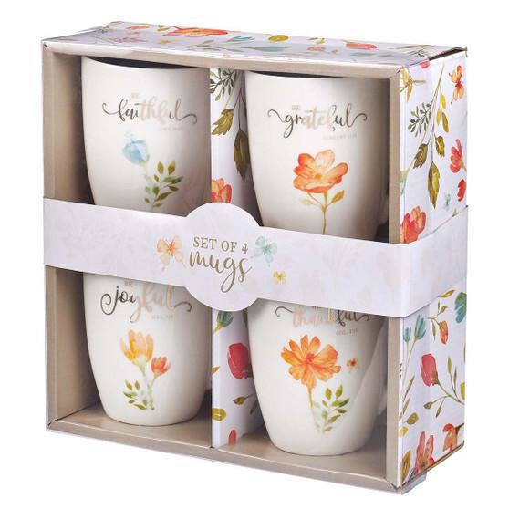 Grateful Ceramic Mug Set