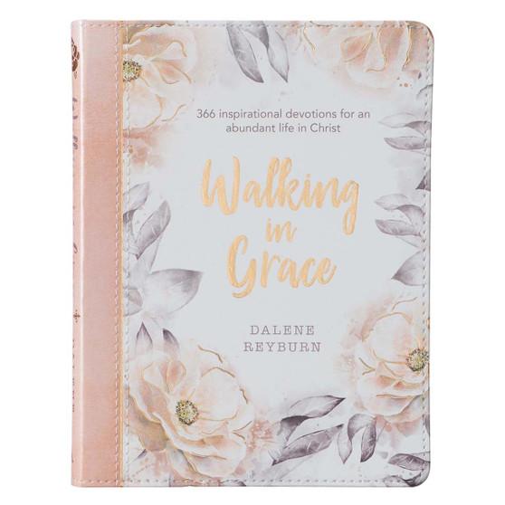 Walking in Grace Faux Leather Devotional