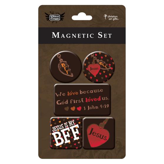 Love Magnet Set - 1 John 4:19