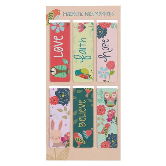 Love Magnetic Bookmark Set