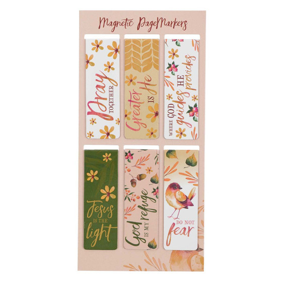 Pray Together Magnetic Bookmark Set