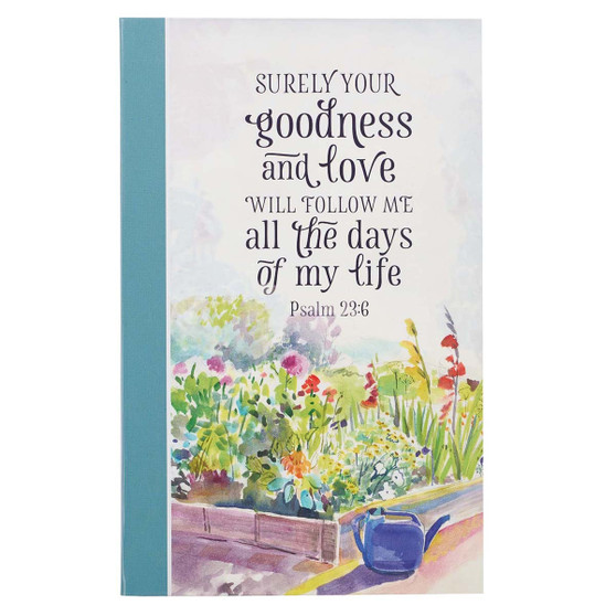 Goodness and Love Flexcover Journal - Psalm 23:6
