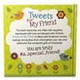 """""""Tweets for My Friend"""" Hardcover Gift Book"""