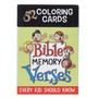 Coloring Cards for Kids: Bible Memory Verses