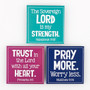 The Sovereign Lord Is My Strength Magnet Set - Habakkuk 3:19