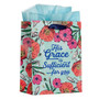His Grace is Sufficient Medium Gift Bag - 2 Corinthians 12:9