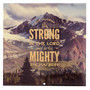2022 Be Strong In The LORD Large Wall Calendar - Ephesians 6:10