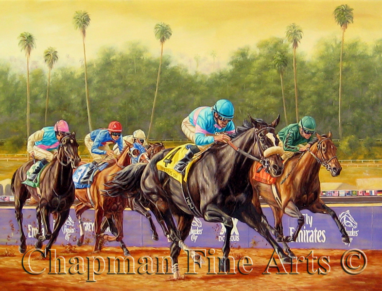Horse Oil Paintings, Giclees, & Commission Art | Chapman