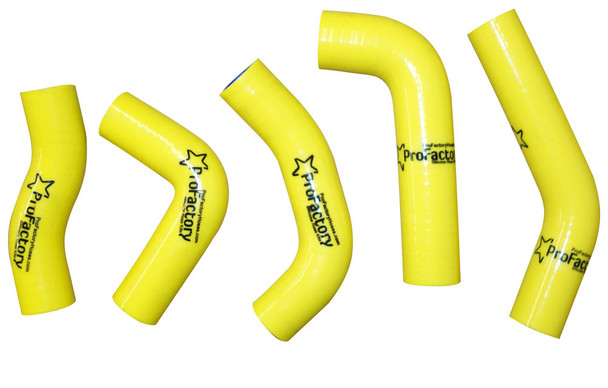 Pro Factory Silicone Radiator Hose Kit XR650R XR 650 YELLOW