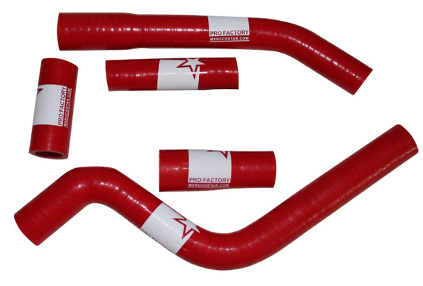 Pro Factory Silicone Radiator Hose Kit YZ250F YZF 2006 Red
