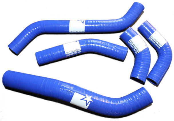 Kx450f Kxf 450 Std Radiator Hose Kit Blue 2006-2008
