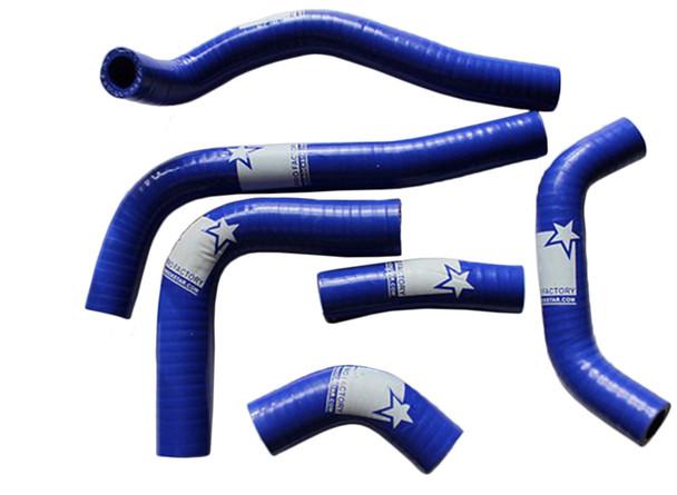 CRF450R CRF 450 Silicone Radiator Hose Kit Pro Factory Blue 02-04