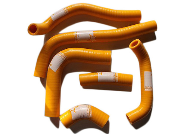 CRF450R CRF 450 Silicone Radiator Hose Kit Pro Factory Yellow 02-04
