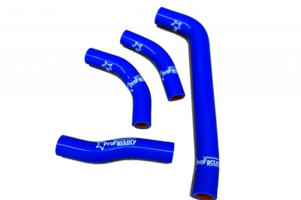 CRF250X CRF 250X Silicone Radiator Hose Kit Pro Factory Blue 04 11