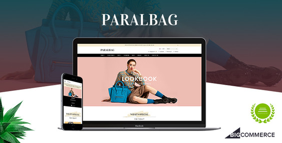 Preview of Paralbag BigCommerce Theme
