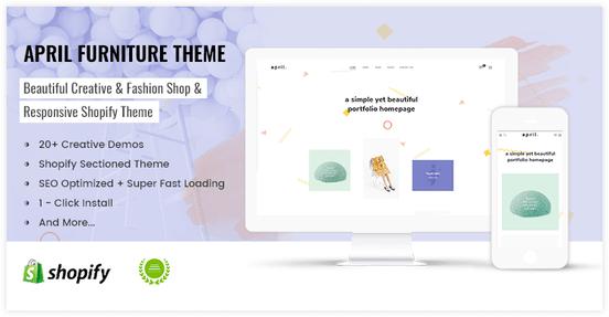 Great idea for portfolio homepage shopify theme - preview