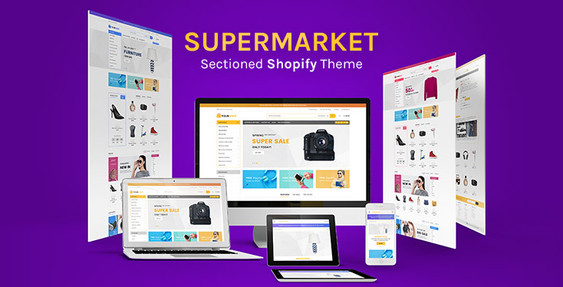 Shopify Supermarket Theme Preview