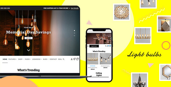 Lightbulbs – Lamps Store BigCommerce Theme