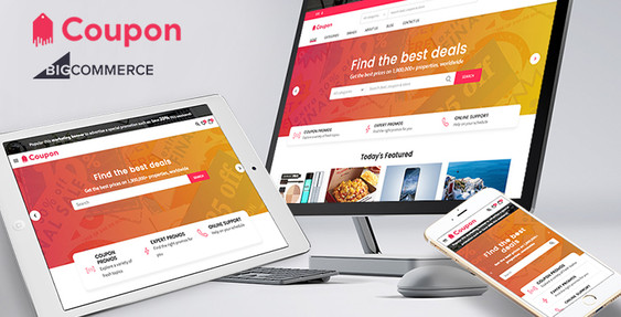 Coupon - Premium BigCommerce theme for coupon & deal stores