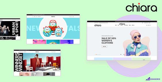 Chiara BigCommerce Theme Preview