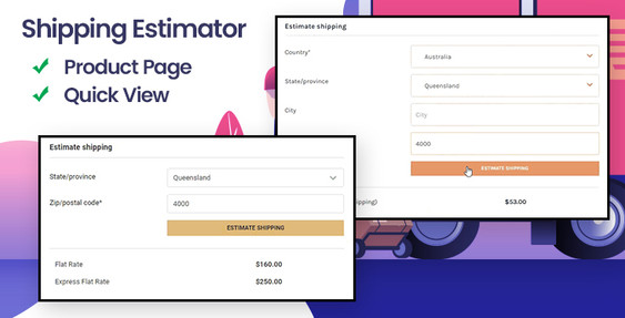 Shipping Estimator on Product Page for BigCommerce