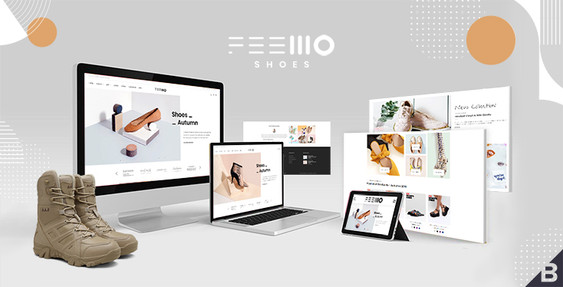 Feellio Shoes BigCommerce Theme