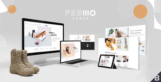 Feellio Shoes BigCommerce Theme