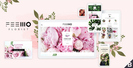 Feellio Florist BigCommerce Theme
