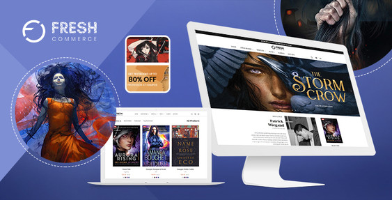 Fresh Novels BigCommerce Theme