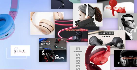 Sima Headphones BigCommerce Theme