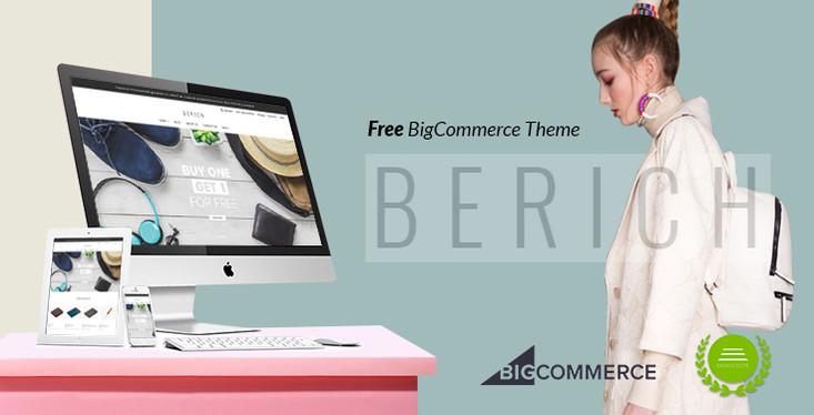 Berich - Free BigCommerce Theme - Stencil & Google AMP ready