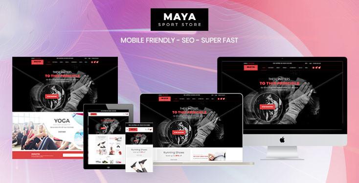 Maya - Fabulous Sections Sport Store Shopify Theme