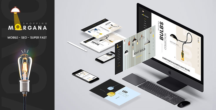 Morgana - Bulbs Store Shopify Theme