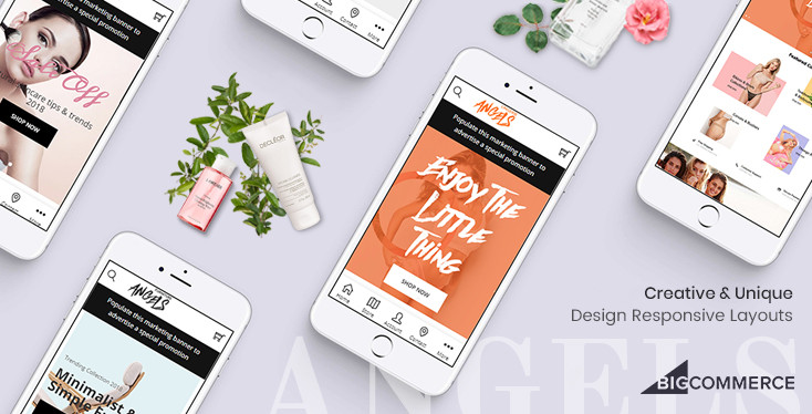 Angels - Minimal Creative BigCommerce Theme - Built w/ Stencil