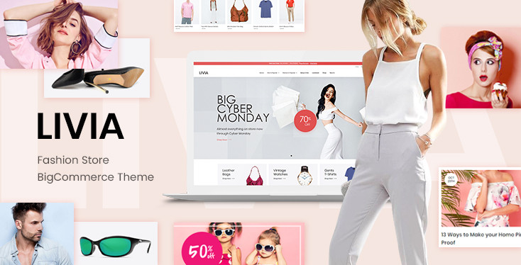 Livia - Fashion Store BigCommerce Theme