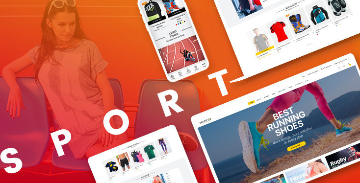 Marco Sport - Premium Shopify theme for sport stores