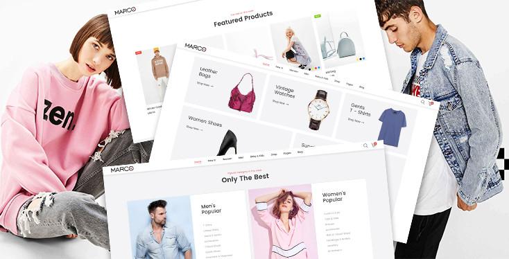 Marco Fashionage - Premium Shopify theme for online fashion boutiques