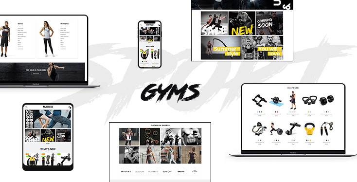 Marco Sportage - Premium Sport store Shopify theme