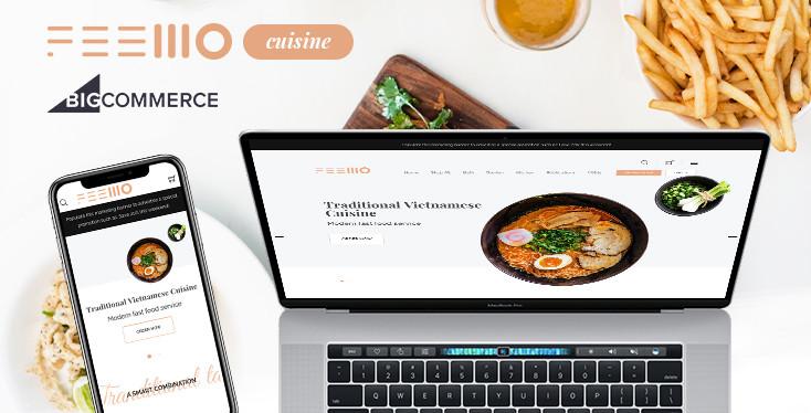 Feellio Cuisine - BigCommerce theme for cuisine, restaurant & bakery