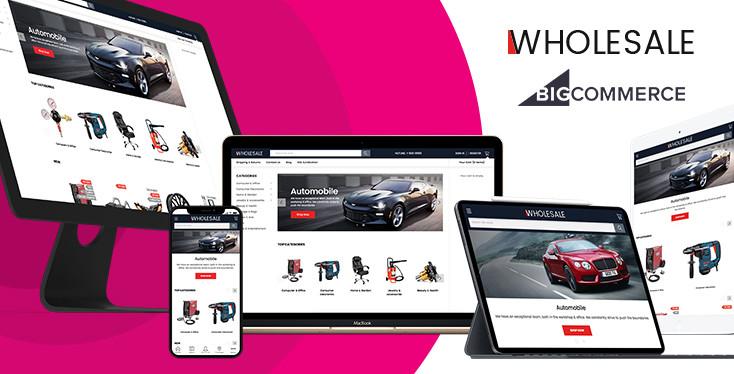 Wholesale - BigCommerce Theme for B2C B2B Marketplaces
